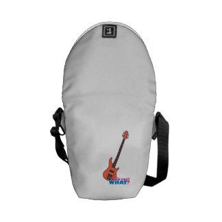 Guitarra baja bolsa de mensajería