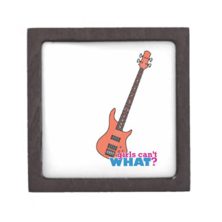 Guitarra baja caja de regalo de calidad