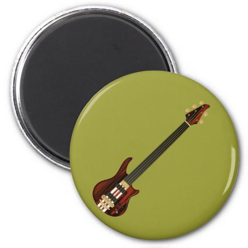Guitarra baja de Alembi de cinco secuencias Imán Para Frigorifico