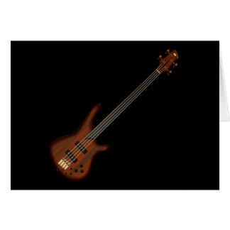 Guitarra baja de secuencia de Fretless 4 Tarjeta Pequeña