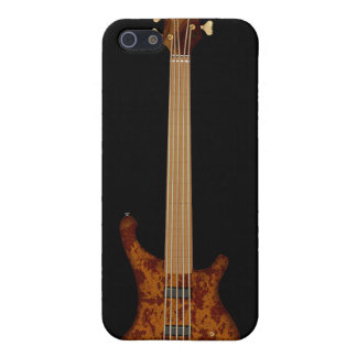 Guitarra baja de secuencia de Fretless 5 iPhone 5 Fundas