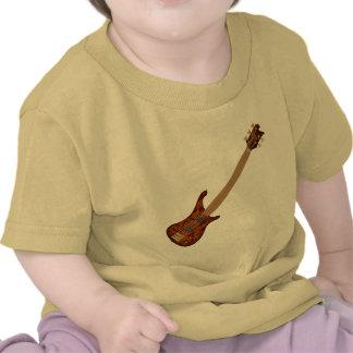 Guitarra baja de secuencia de Fretless 5 Camiseta