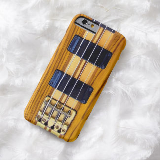 Guitarra baja del vintage funda de iPhone 6 barely there