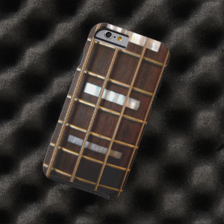 Guitarra baja del vintage funda para iPhone 6 tough