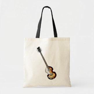 Guitarra baja del violín bolsa de mano