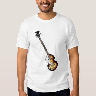 Guitarra baja del violín camisas