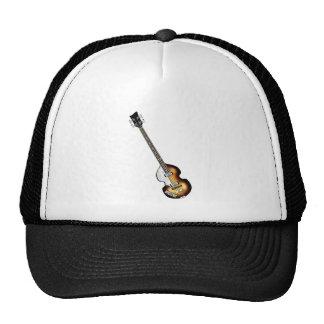 Guitarra baja del violín gorras