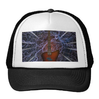 Guitarra baja eléctrica gorras