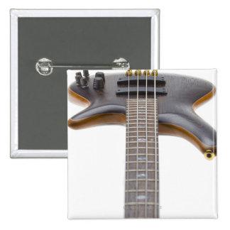 Guitarra baja eléctrica pin cuadrado