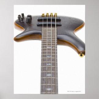 Guitarra baja eléctrica póster