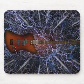 Guitarra baja eléctrica alfombrilla de ratón