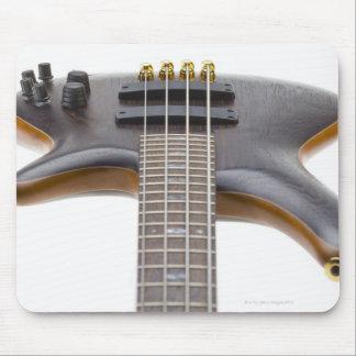 Guitarra baja eléctrica tapetes de ratón