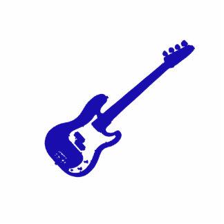 guitarra baja graphic.png azul inclinado adorno fotoescultura