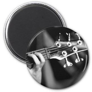 guitarra baja imán redondo 5 cm