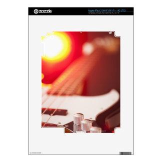 Guitarra baja pegatinas skins para iPad 3