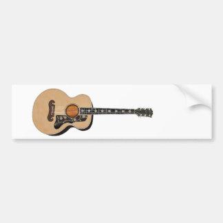 Guitarra Pegatina De Parachoque