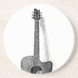 Guitarra clásica portavasos