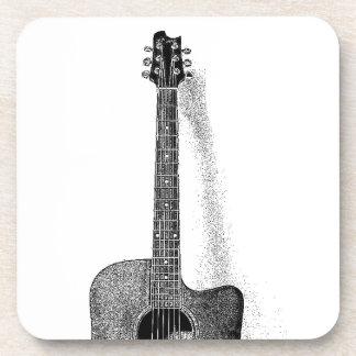 Guitarra clásica posavasos para bebidas