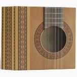 Guitarra clásica v2 Avery carpeta de 2 pulgadas