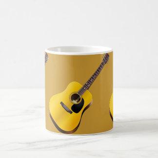 Guitarra de Accoustical taza blanca clásica de 11