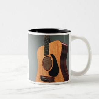 Guitarra de acero de la secuencia taza dos tonos