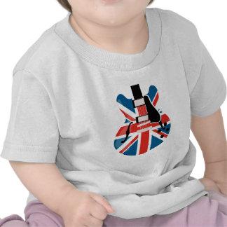 Guitarra de Britpop Camiseta