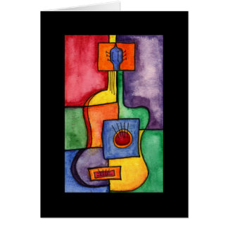 Guitarra de Clasical Tarjeta Pequeña