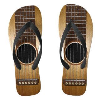 Guitarra de encargo chanclas