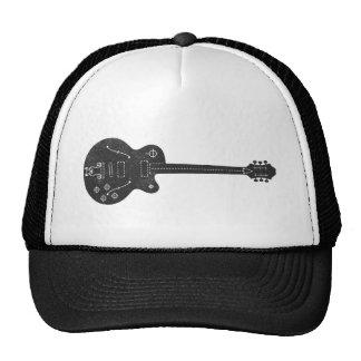 Guitarra de espec gorro de camionero