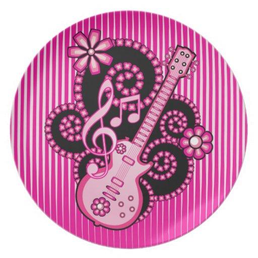 Guitarra de Girlie Platos