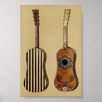Guitarra de Hipkins Posters
