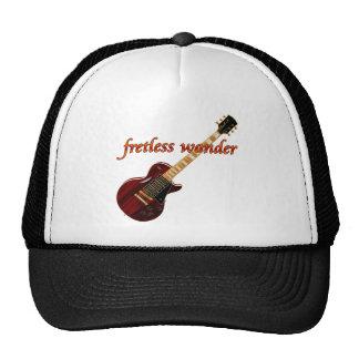 Guitarra de la caoba de la maravilla de Fretless Gorro De Camionero
