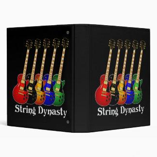 Guitarra de la dinastía de la secuencia