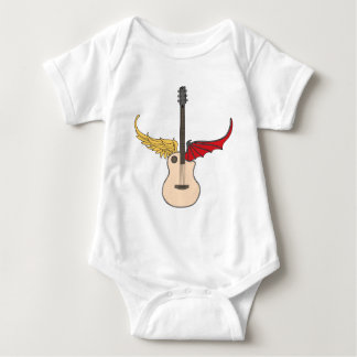 Guitarra de la doble personalidad playera