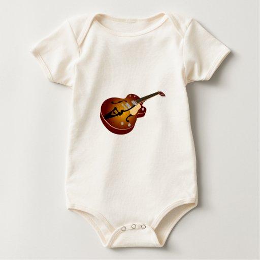 Guitarra de la explosión del vintage body para bebé