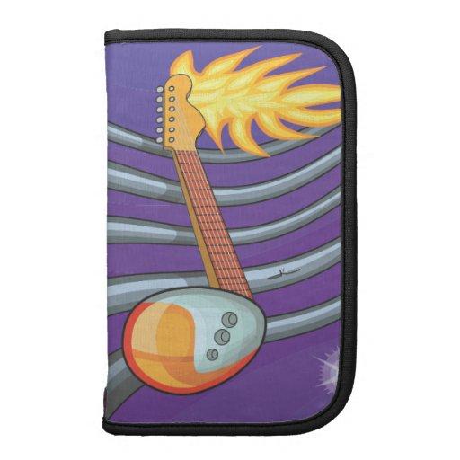 Guitarra de la nota de la fruta organizador