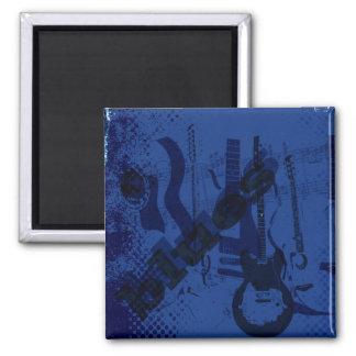 Guitarra de los azules iman