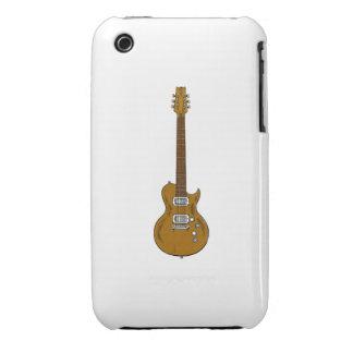 Guitarra de madera funda bareyly there para iPhone 3 de Case-Mate