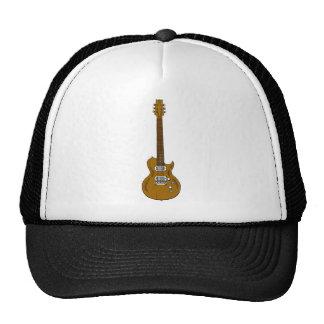 Guitarra de madera gorra