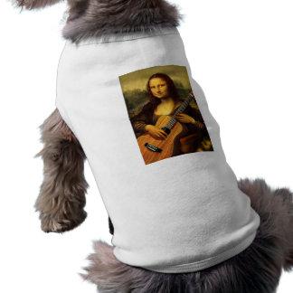 Guitarra de Mona Playera Sin Mangas Para Perro