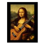 Guitarra de Mona Postal
