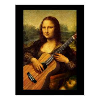 Guitarra de Mona Tarjetas Postales