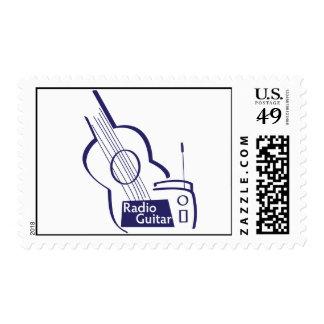 Guitarra de radio sellos