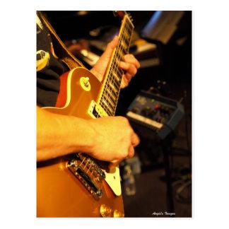 Guitarra de Rockin Postal