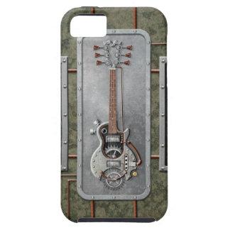 Guitarra de Steampunk iPhone 5 Coberturas
