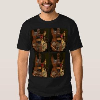 Guitarra de Steampunk Poleras