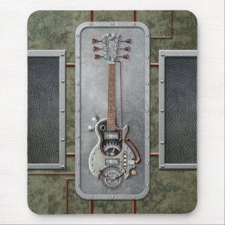 Guitarra de Steampunk Alfombrilla De Ratón
