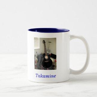 Guitarra de Takamine (taza del 2-Tono)