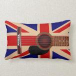 Guitarra de Union Jack Cojin