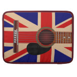 Guitarra de Union Jack Fundas Macbook Pro